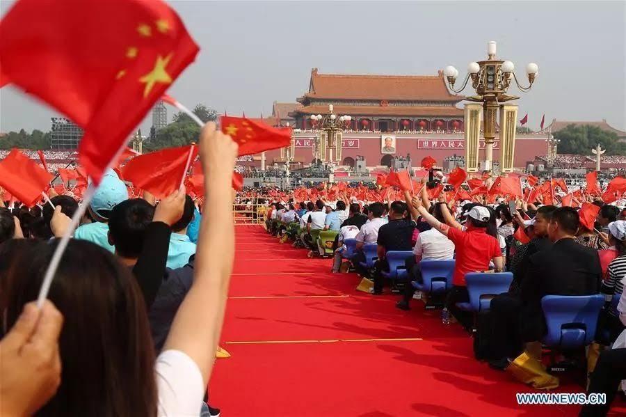 El Día Nacional de China: compartiendo un evento.
